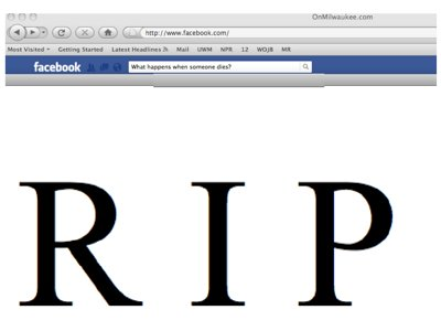 Death and Facebook Image