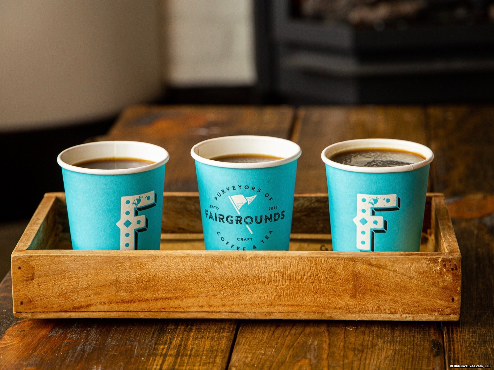 Fairgrounds Coffee Tea, which opens Oct. 23, aspires to be a Milwaukee staple