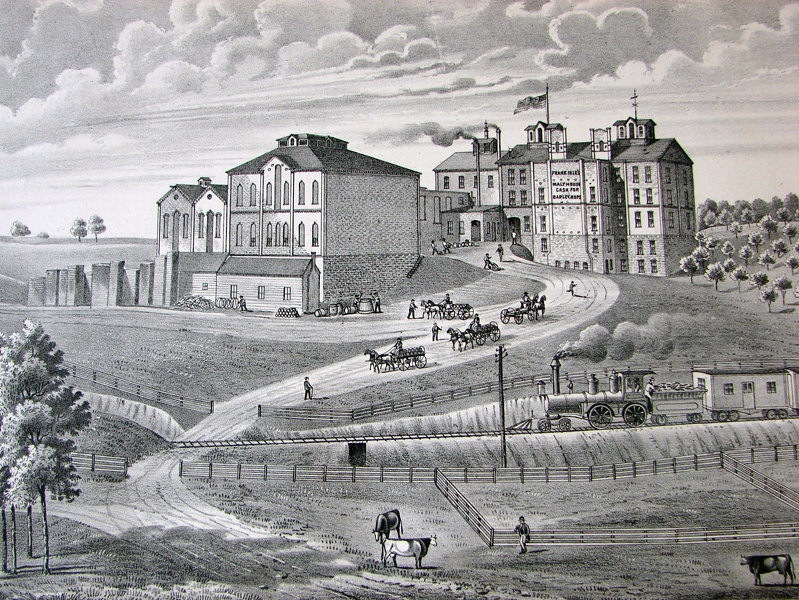Illustration of Falk Brewery