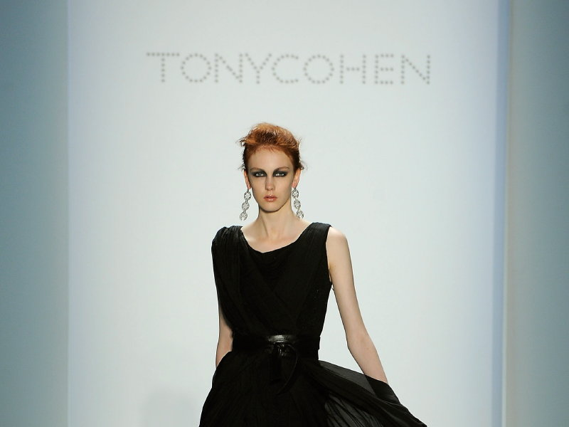 Tony Cohen added his own unique twist to current trends.