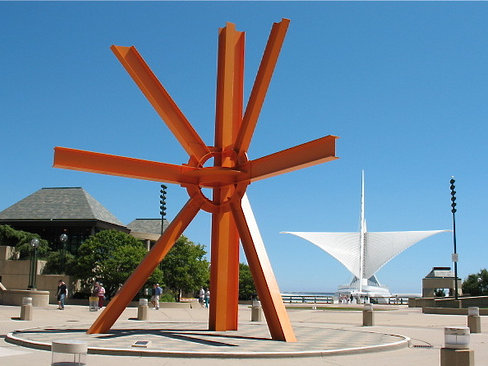 "Yes ... I prefer the ""orange thing"" to the Milwaukee Art Museum."