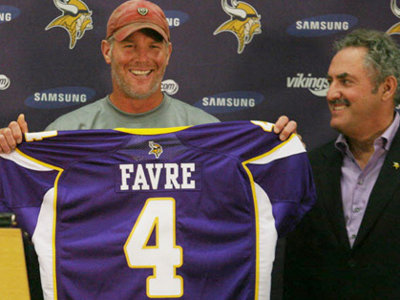 Favre speaks, again Image