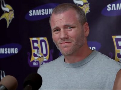 Favre parody goes viral Image