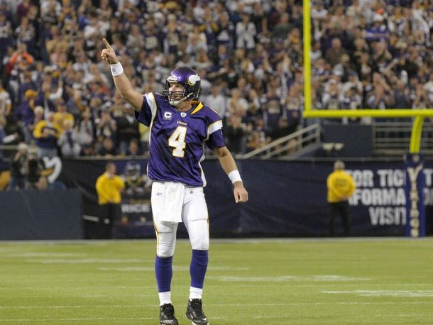 Brett Favre is ready to return to the Vikings.