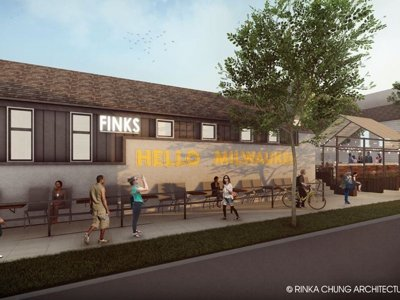 Check out renderings of Fink's new patio