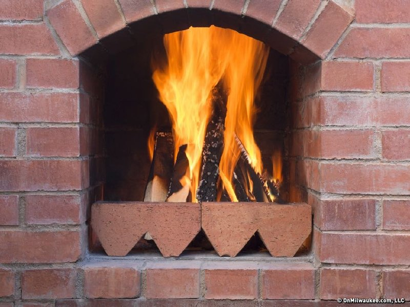 Fireplace Design east bay fireplace : Toast yourself at bars and eateries with fireplaces - OnMilwaukee