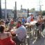 Take a look at the new rooftop patio at Good City Brewing, which opened today Image