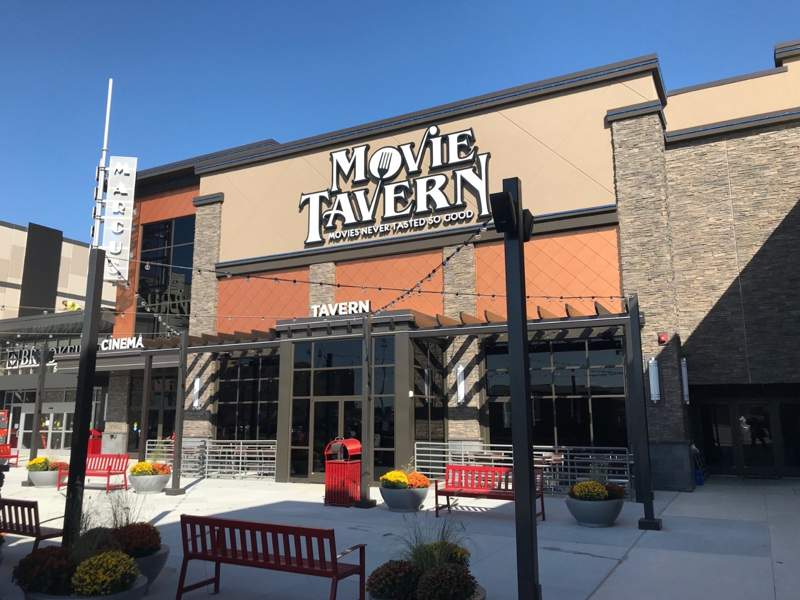 First Look Wisconsin S First Movie Tavern By Marcus