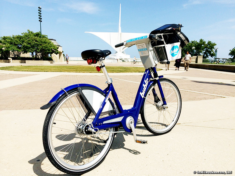 The Bublr Bike in its full glory.