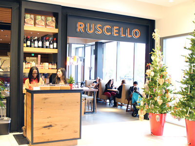 Shop and then dine - or just dine - at Ruscello