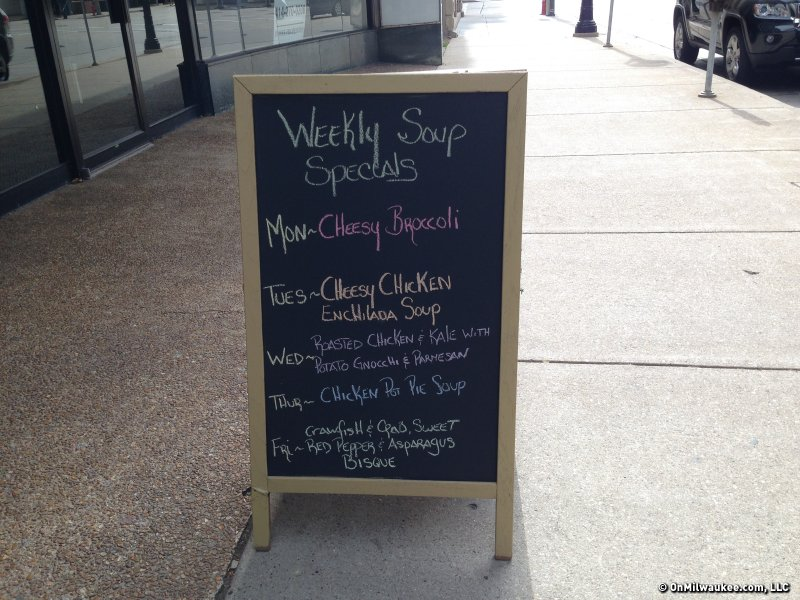 Uncanny Soup Co. opened today at 612 N. Water St. serving homemade soups, sandwiches and more.