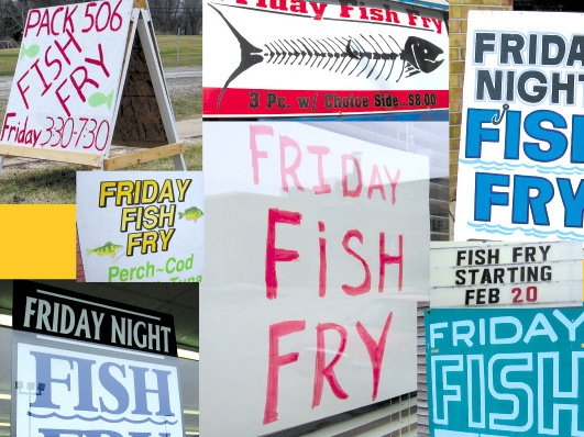 It seems that every place in Milwaukee offers a fish fry on Fridays.