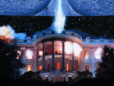 White House under attack