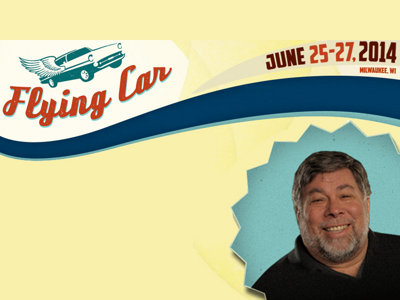 Apple co-founder Wozniak and others to speak at Flying Car