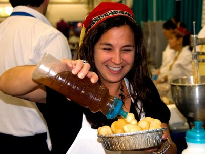 Eat your way around the globe at the Folk Fair