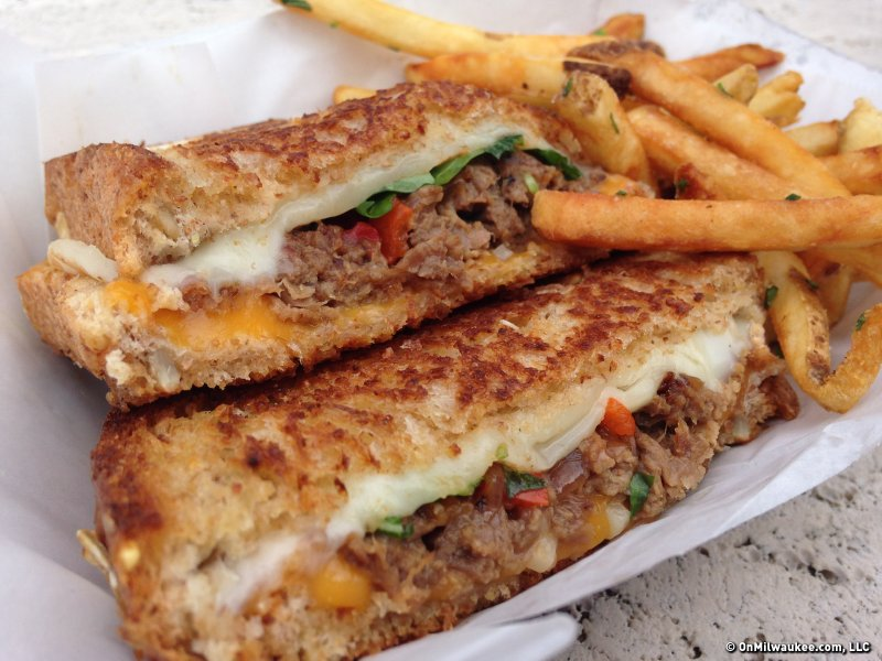 If you think Roll MKE's brisket grilled cheese sounds delicious, that's because it's really delicious.