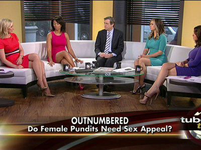 Fox News owns the shapely leg battle Image