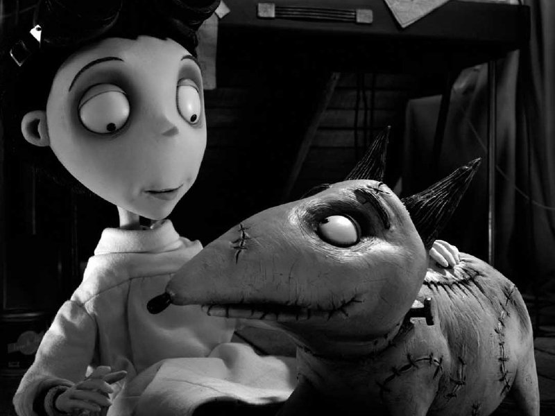 "Tim Burton's ""Frankenweenie"" is in theaters now."