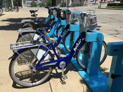 Unlimited Bublr rides on Tuesday, July 5