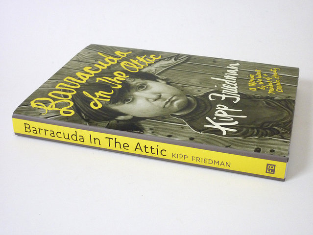 """Barracuda in the Attic"" is published by Fantagraphics Books."