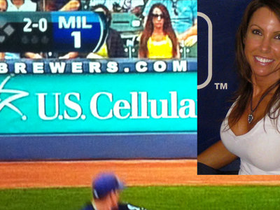 Who's that Brewers girl?