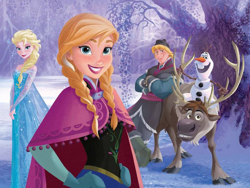 """Frozen"" is the first Disney animated feature to hit the $1 billion mark at the box office."