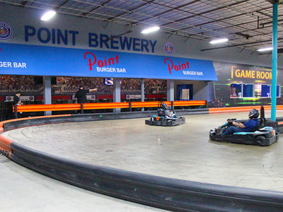 Games, go-karts and more await at the new Point Burger Bar in Pewaukee