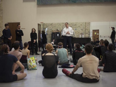 Dancer draft first step in development of Genesis competition for MKE ballet