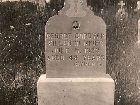 My grandfather's headstone carries a variant spelling of the family name.