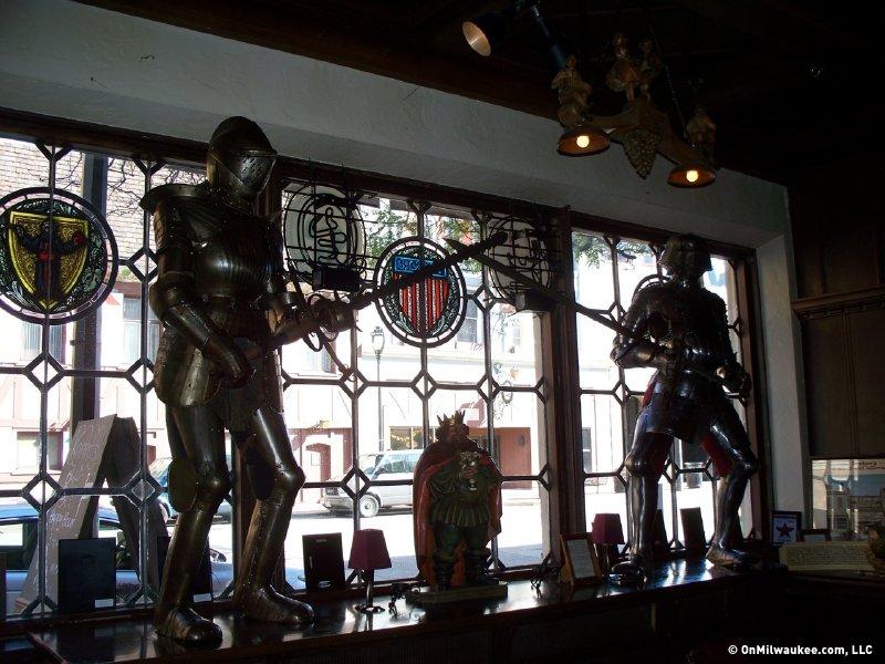 Mader S Knights Guard The Bar