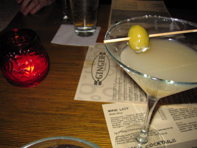 Ginger's pepper martini wows Image