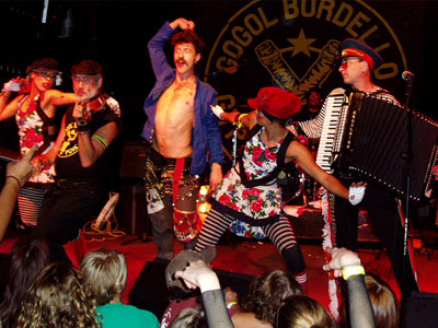 The wanderlust kings: Gogol Bordello.