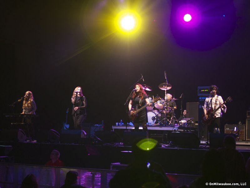 The Go-Go's, Wednesday night at Summerfest.