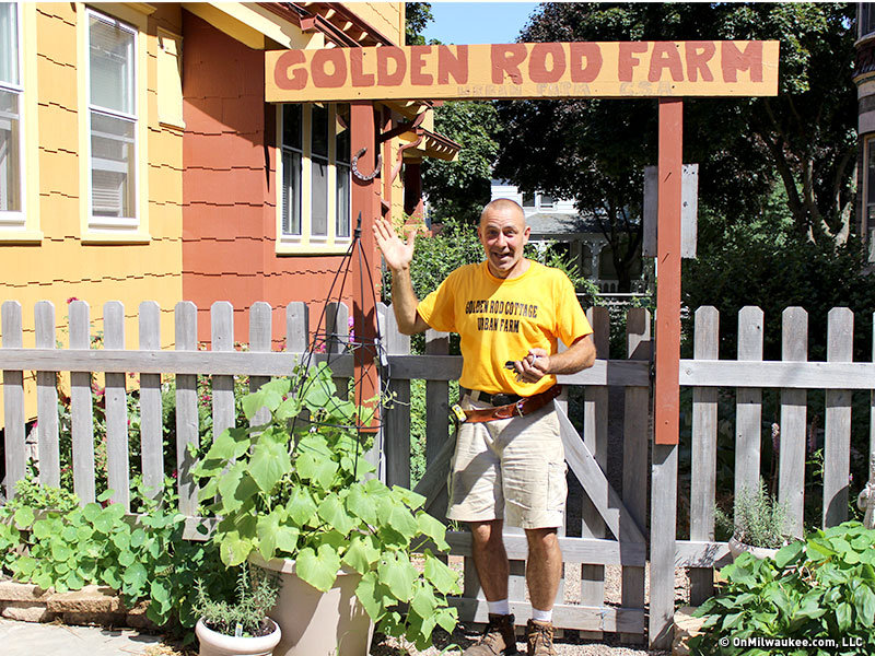 stephen seefeldt has created a new life for himself thanks to his urban farm golden rod cottage