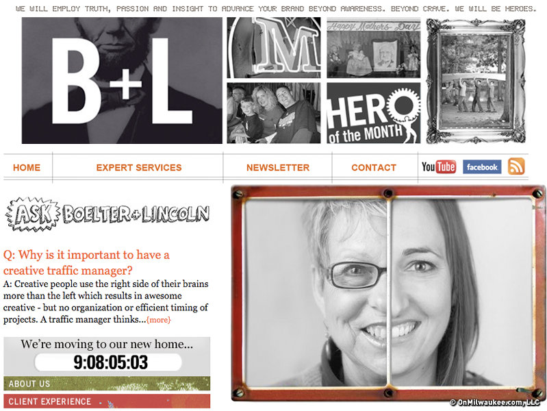 B+L's newly designed Web site is here ...