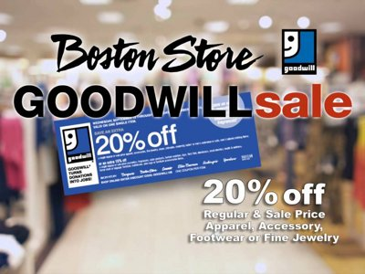 Goodwill Sale  Image