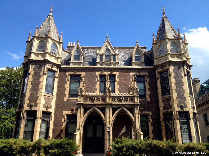 The Goodrich Mansion Near Tower Is Perhaps Most Stunning Gothic Building In Town