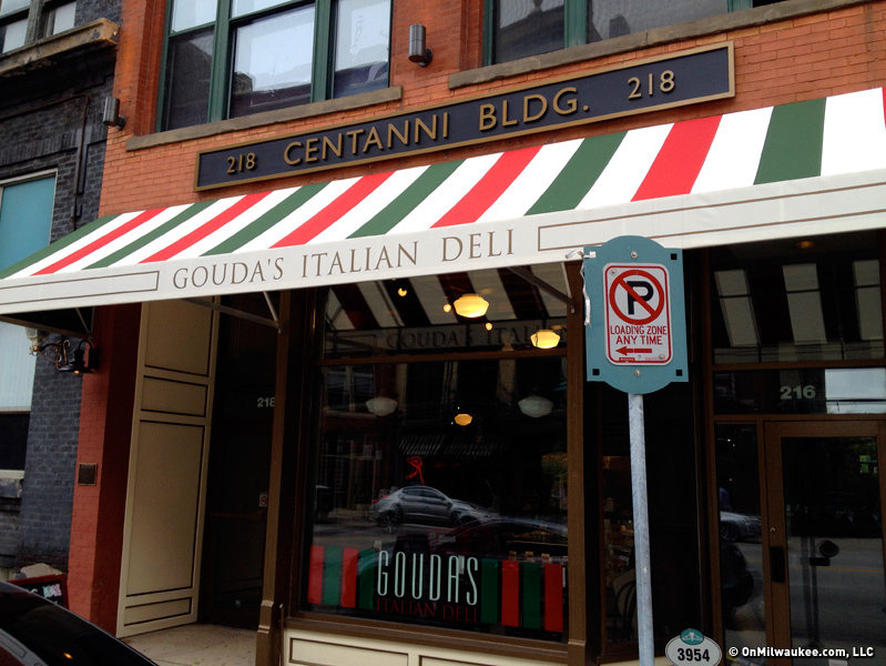 Gouda's Italian Deli is located in the former Centanni space at 218 N. Water St.