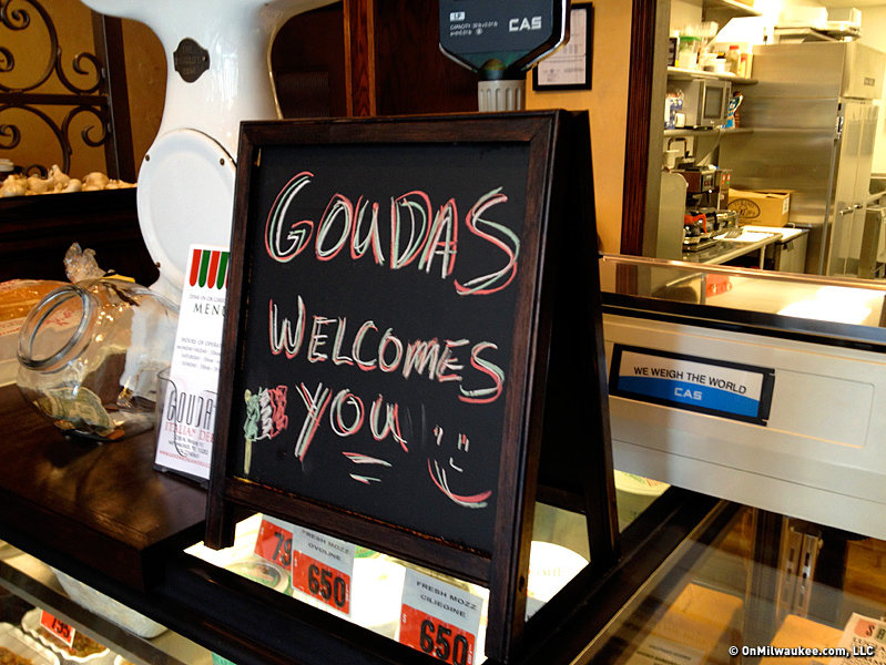 Gouda's opened yesterday, but today is its first full day.