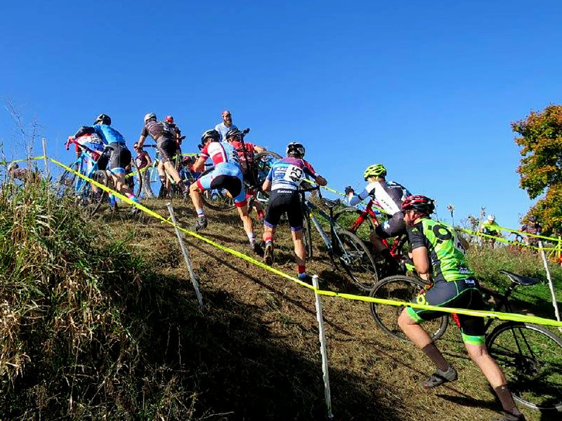 Cyclocross racing returns to the Domes