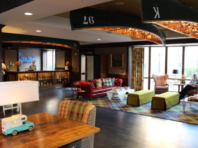 Staying in Madison?  The Graduate Hotel offers both comfort and nostalgia