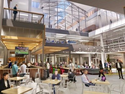 Grand Ave. food hall  Image