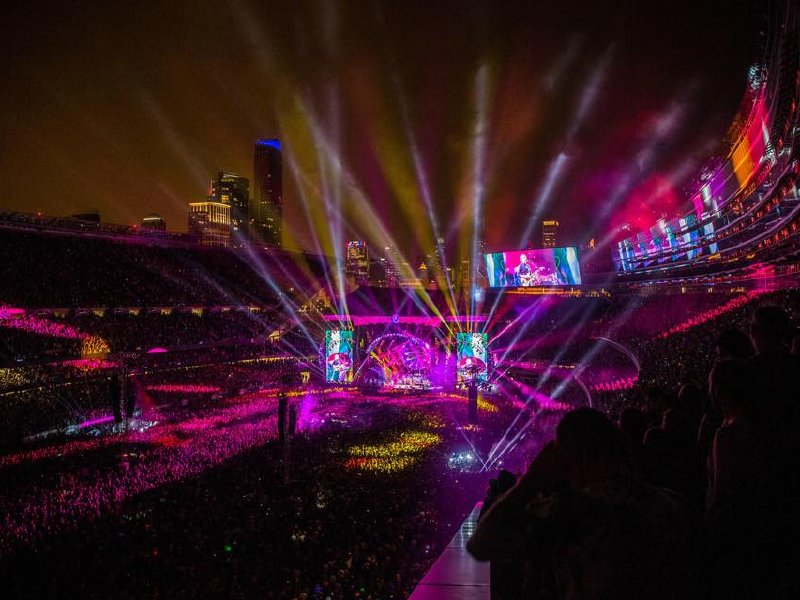 The Grateful Dead performed for the last time as a group this weekend in Chicago.