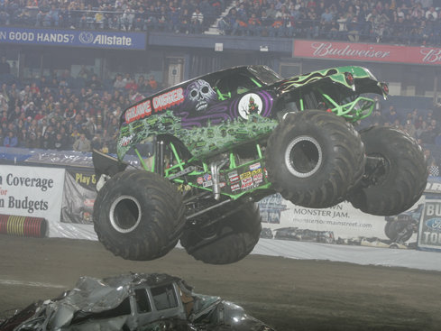 Grave Digger's coming to town this weekend.