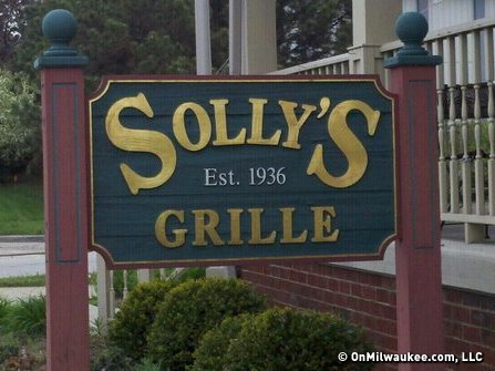 Not only does Solly's Grille have great burgers, but the fries are the perfect compliment to a great lunch.