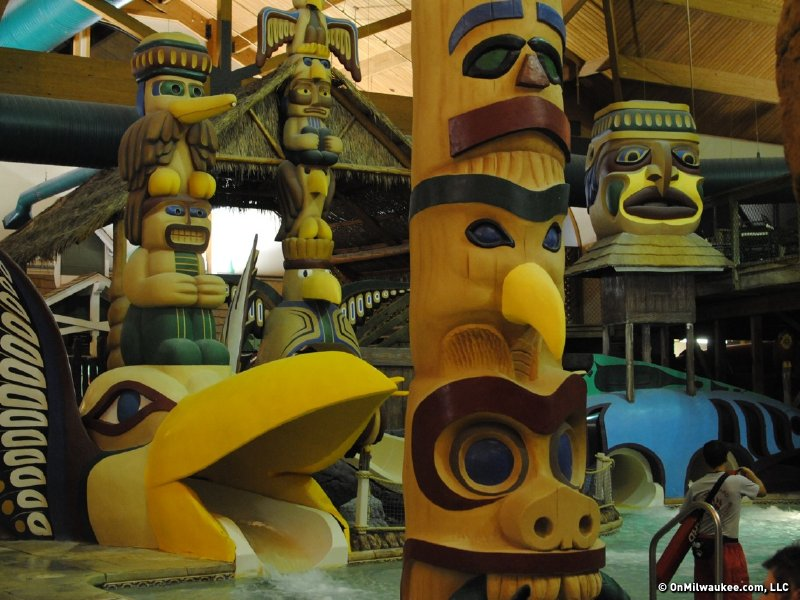 Great Wolf Lodge is Native American themed.