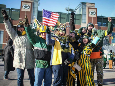 Green Bay ranked as America's best city for football fans in 2017