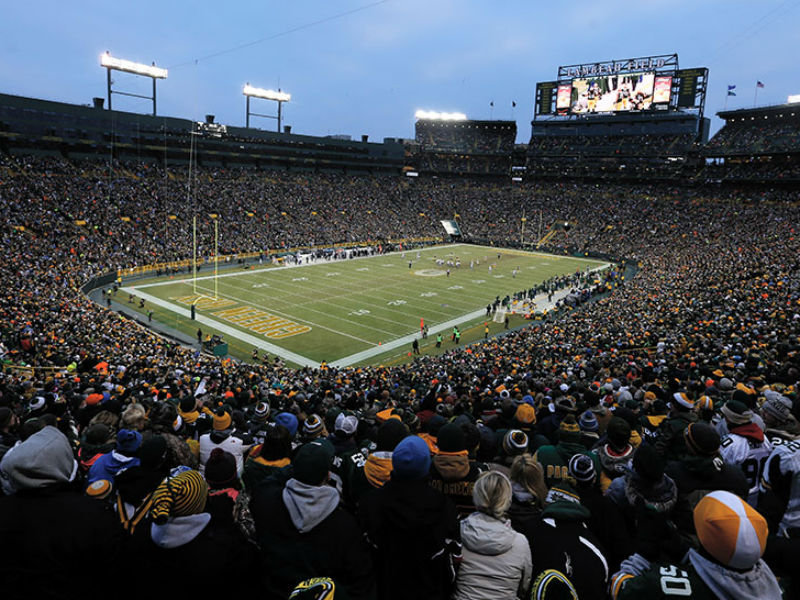 Packers 2018 Schedule Opens At Home Vs Bears Includes 5 Prime Time Games