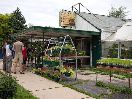 Growing Power, located on the north side of Milwaukee, is one of few urban farms in the country.