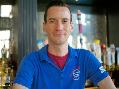 Featured bartender: Greg Nadasdy from Jackson's Blue Ribbon Pub